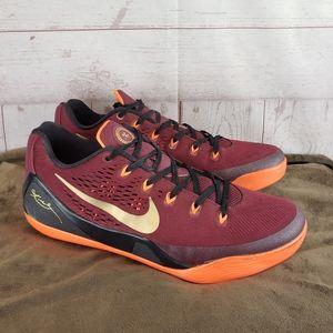 Nike Kobe 9 Deep Garnet Basketball Shoes